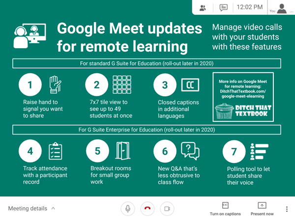 Google Meet Updates